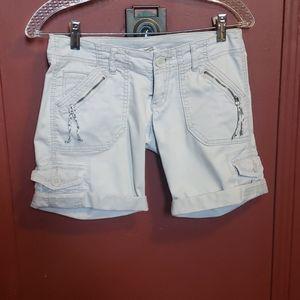 Sound Matter Tan Cargo Shorts Size 0